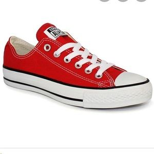 Converse All Star red sneakers Unisex